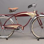 242. C. 1950 Schwinn Three Star Deluxe Bicycle