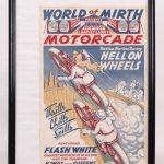 254. Vintage Motorcycle Poster