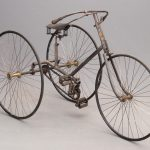 35. C. 1880's Clement Adult Tricycle