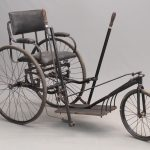 36. 1890's Invalid Chair Bicycle