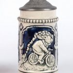 3. German Bicycle Stein