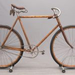 44. C. 1890's Yellow Fellow Stearns Bicycle