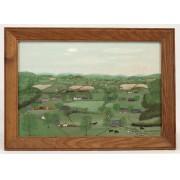 Forrest K. Moses (1893-1974), landscape, oil on panel.