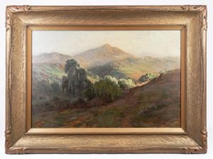 Lot 570. Arthur William Best (Cal./Az./Canada 1859-1935), oil on canvas