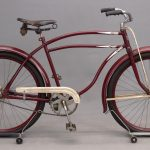 "58. 1942 Montgomery Wards Hawthorne ""Victory V-50"" bicycle"