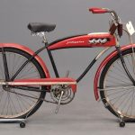 63. C. 1930's J. C. Higgins tank bicycle