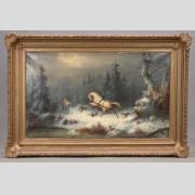 Painting, John Zang (b. 1859, New York, California, Georgia)