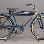 73. 1940 Monark Silver King 5-Bar Deluxe mens bicycle