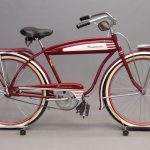 77. 1954 Columbia Roadmaster tank bicycle