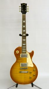 C. 2004 Gibson Les Paul Standard Premium AAA flame top plus guitar.