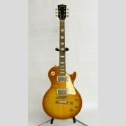 C. 2004 Gibson Les Paul Standard Premium AAA flame top plus guitar.
