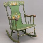 19th c. Pennsylvania Double Rocking Chair