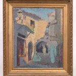 George Waller Parker (1888-1957), Morrocan subject, oil on artist board