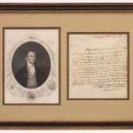 James Monroe (1758-1831), Signed letter, as president, to a friend