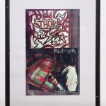 Jean Michel-Basquiat, two sided