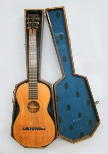 "Early stamped ""William Hall & Son"" Acoustic Guitar"