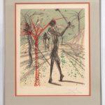 """Salvador Dali (Spain 1904-1989), """"The Golfer"""""""