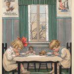 Katharine Wireman (Penna. 1878-1966), original Cream Of Wheat illustration. Provenace Ex: Kraft Food Collection