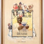 "Edward Vincent Brewer (MN./N.Y. 1883-1971), ""Well Fortified"", original Cream Of Wheat illustration. Oil on canvas. Provenance Ex: Kraft Food Collection"