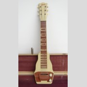 Vintage Gibson lap steel guitar in original case.