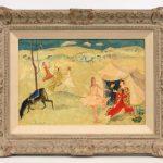Jean De Botton (N.Y./France 1898-1978) Oil on Panel