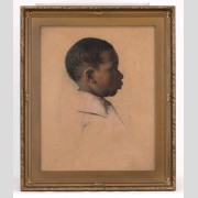 Eldridge Ayer Burbank (AZ./CAL./Ill. 1858-1949), drawing of child.