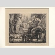 John Sloan (New York/New Mexico 1871-1951), etching, pencil titled and signed