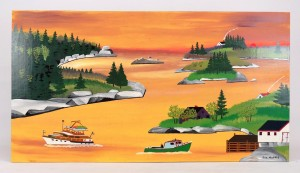 Joe Norris Nova Scotia Painting