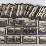 Lot (50) assorted Keystone stereoview cards.