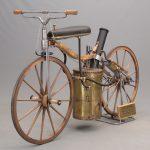 100A. William Eggers 1867 Roper Steam Velocipede Replica