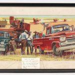 "146. Original Life Magazine illustration ""Watch Em Hustle"", 4-17-58. Signed Jack Hearill"