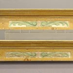 Pair of Mantels with Carved Birds