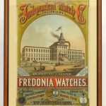 Early Independent Watch Company advertising poster