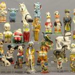(42) Vintage Chalkware Carnival Statues