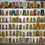 Large collection of (96) vintage carnival knock downs