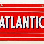 "687. ""Atlantic"" porcelain single sided"