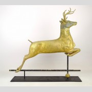 Leaping Stage Weathervane