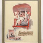 Edward Vincent Brewer (MN./N.Y. 1883-1971), original Cream Of Wheat illustration. Mixed media
