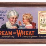 Unknown artist, original Cream Of Wheat illustration. Oil on canvas