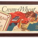 "Unknown artist, original Cream Of Wheat illustration, ""Instant Energy"". Oil and mixed media on canvas"