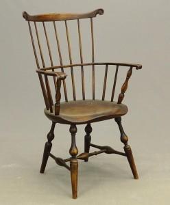 18th c. N.Y.C. Fanback Windsor Armchair