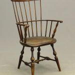 18th C. NYS Fanback Windsor Armchair