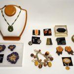 Unique Vintage Bakelite Jewelry Lot