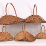 Nest of (8) Liz Proper Taghkanic baskets