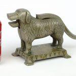 115. Figural Dog Nutcracker