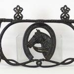 39. Iron Horse Hat Rack