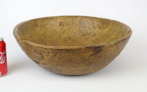 19th c. Burl Bowl