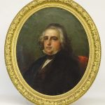 Louis Lang (1814-1893), Portrait of the Honorable John Strong Rice, oil on canvas