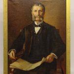 Charles Frederick Naegele (1857-1944), portrait of a gentleman.
