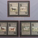 Set of 1905 Sporting Dog Calendars